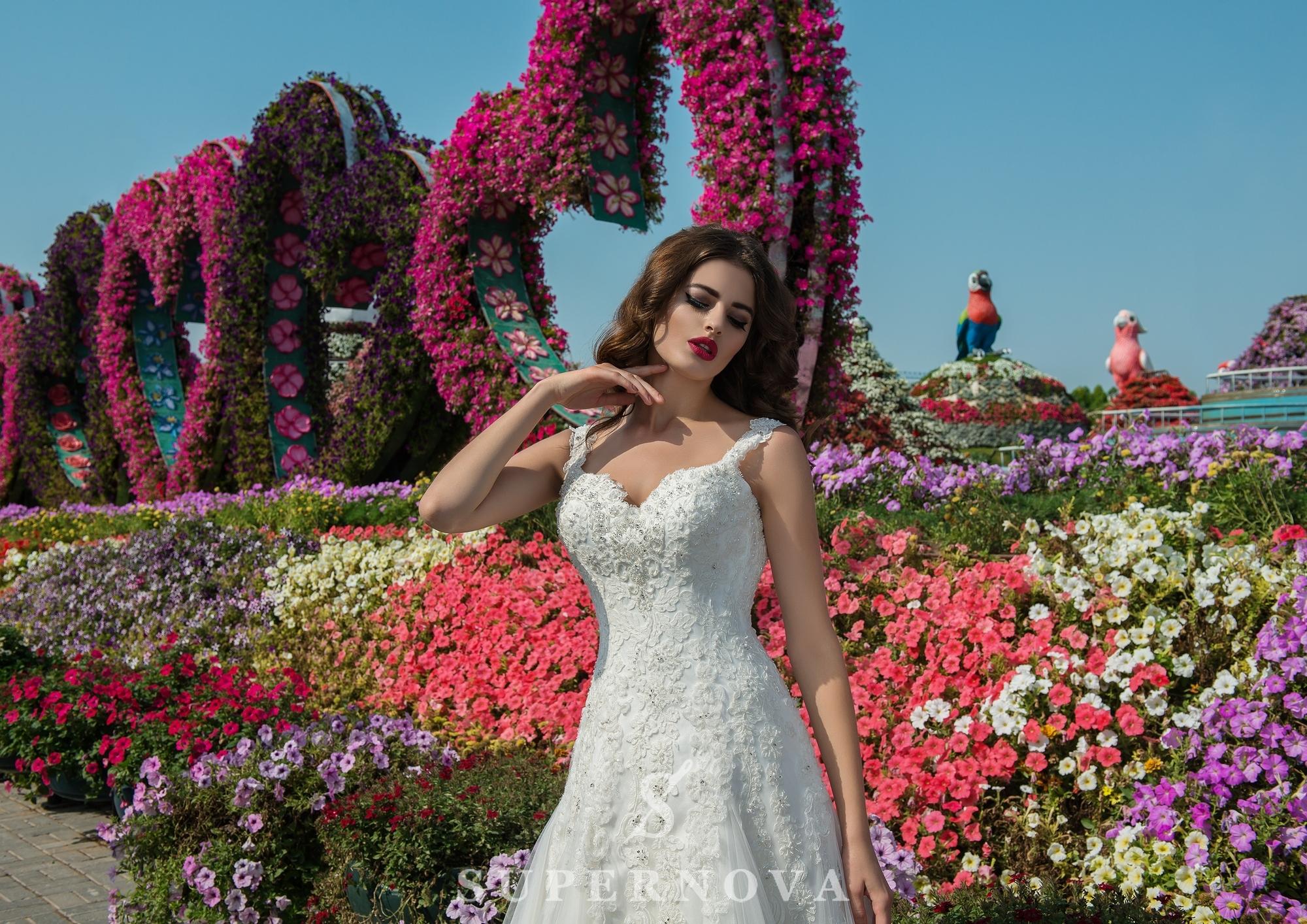 Свадебное платье А силуэта-1
