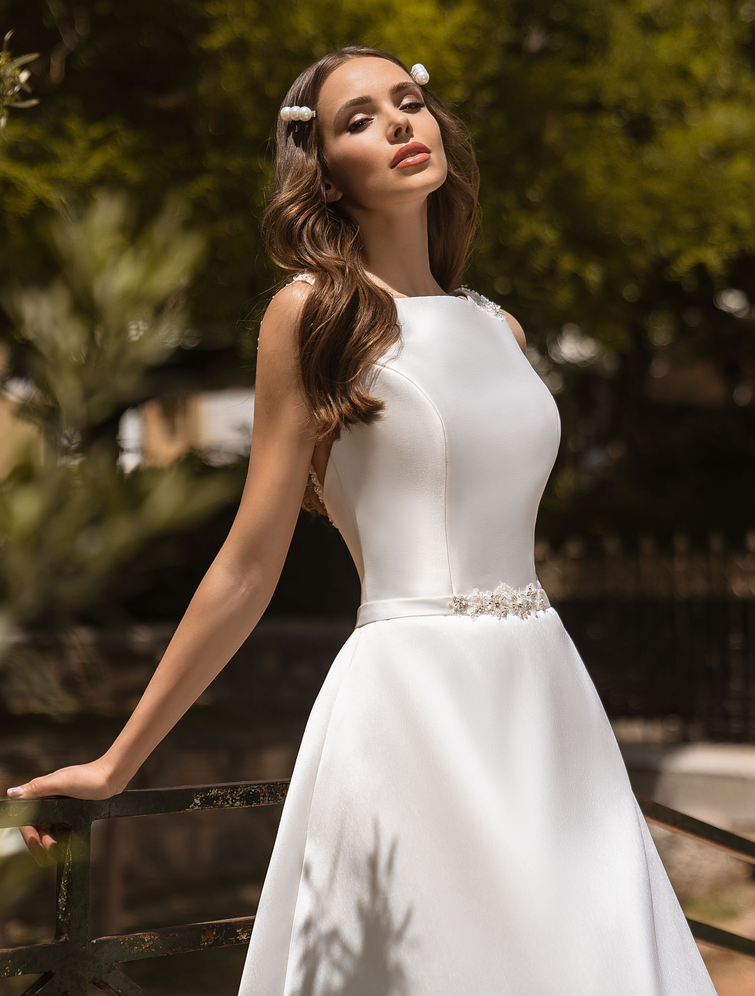 Wedding dress with pockets from manufacturer Supernova wholesale-1