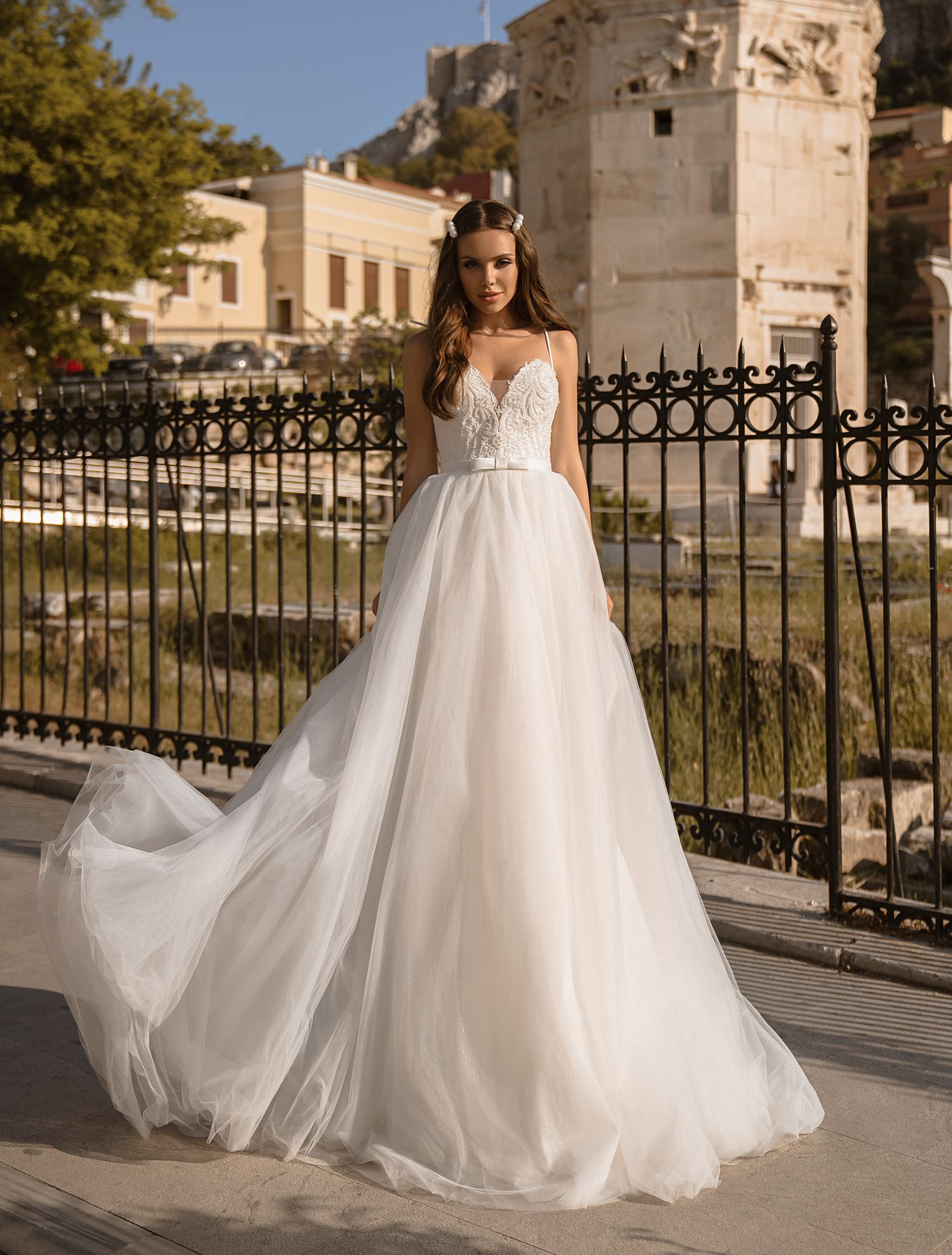 Short wedding dress from manufacturer Supernova wholesale-1