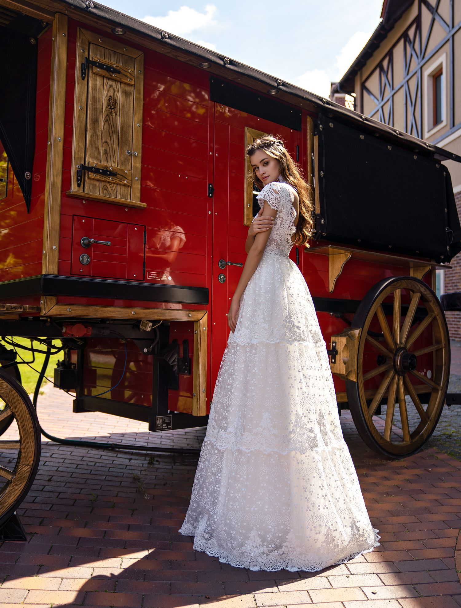 "Romantic wedding dress ""boho"" wholesale from Supernova-1"