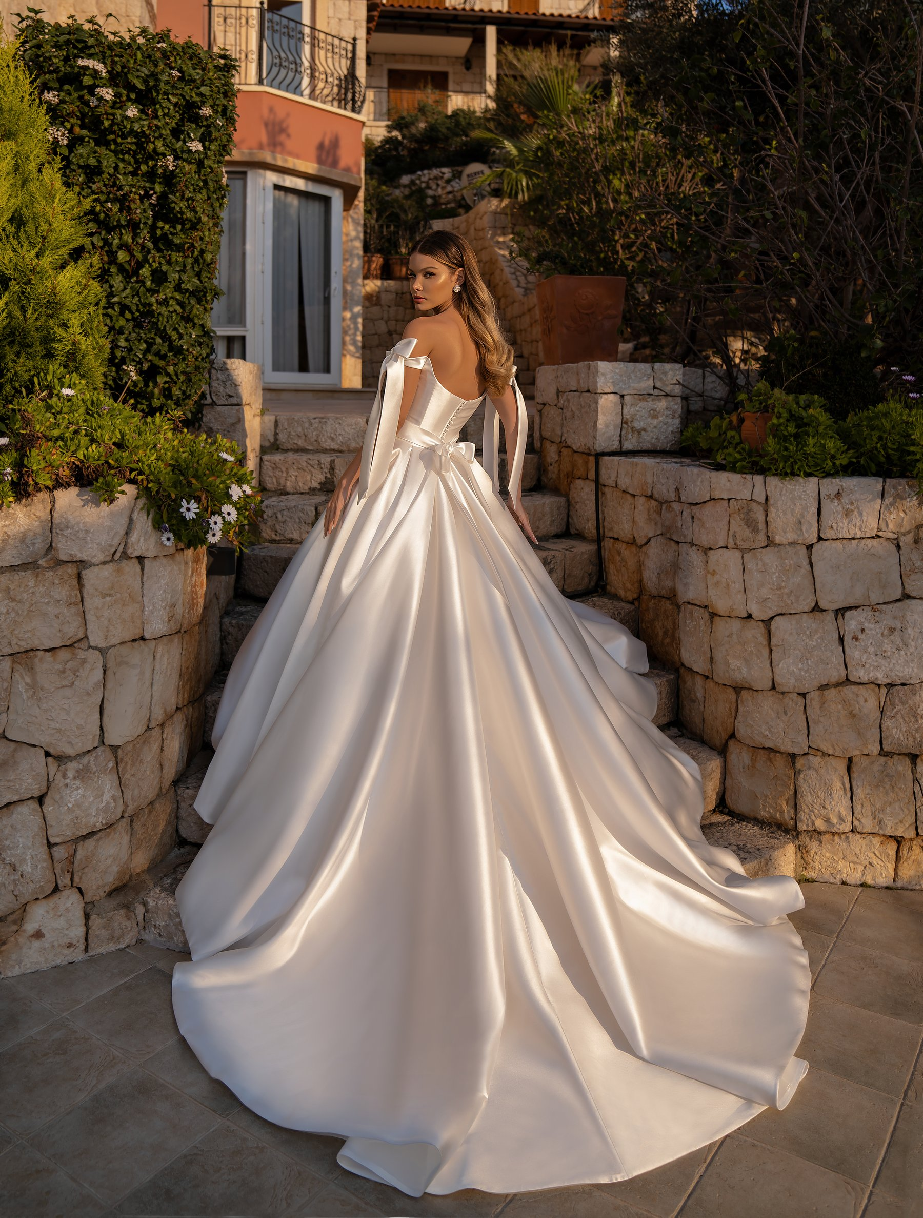 Wedding dress with a full skirt from Supernova-1