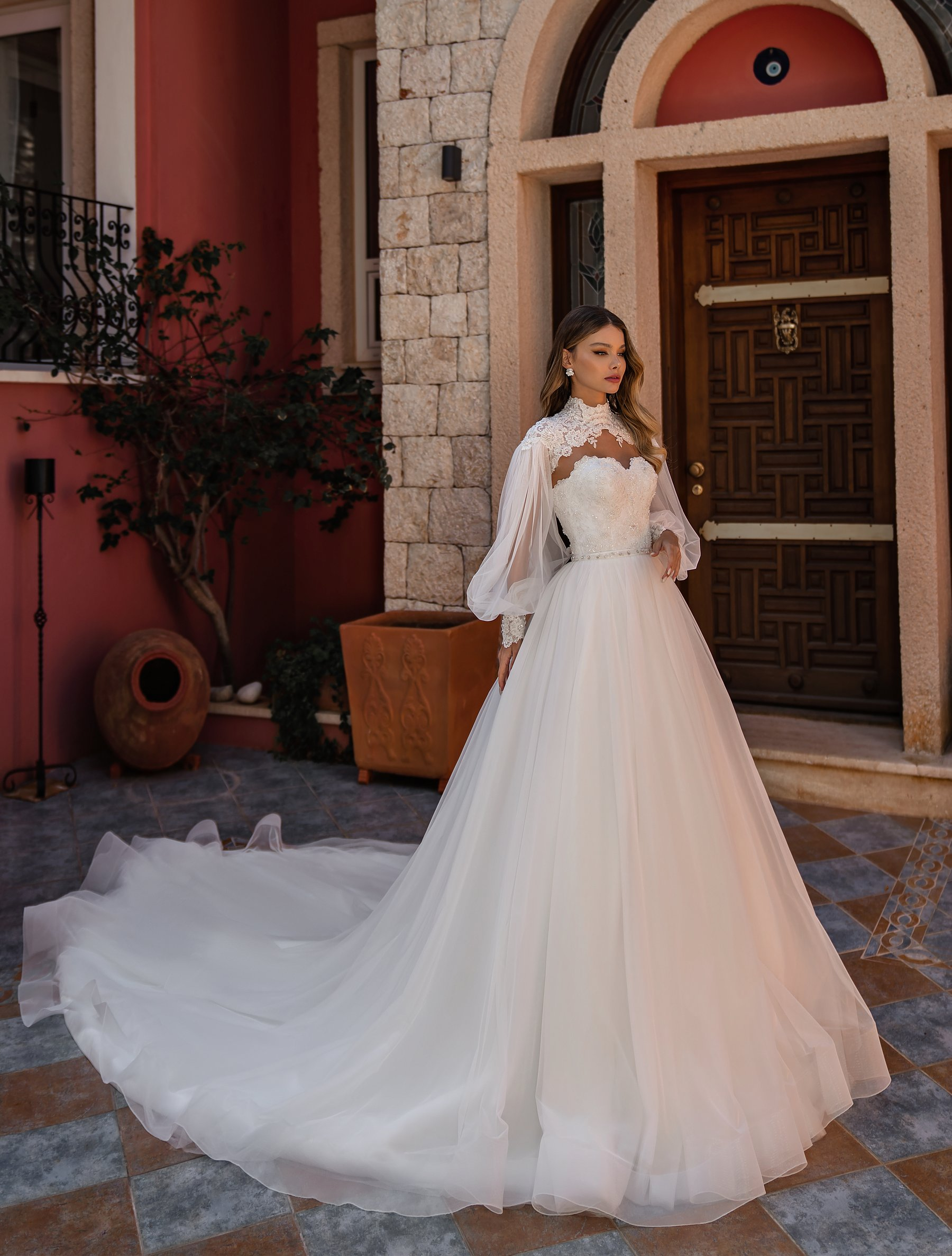 Off Shoulder Wedding Dress by Supernova-1