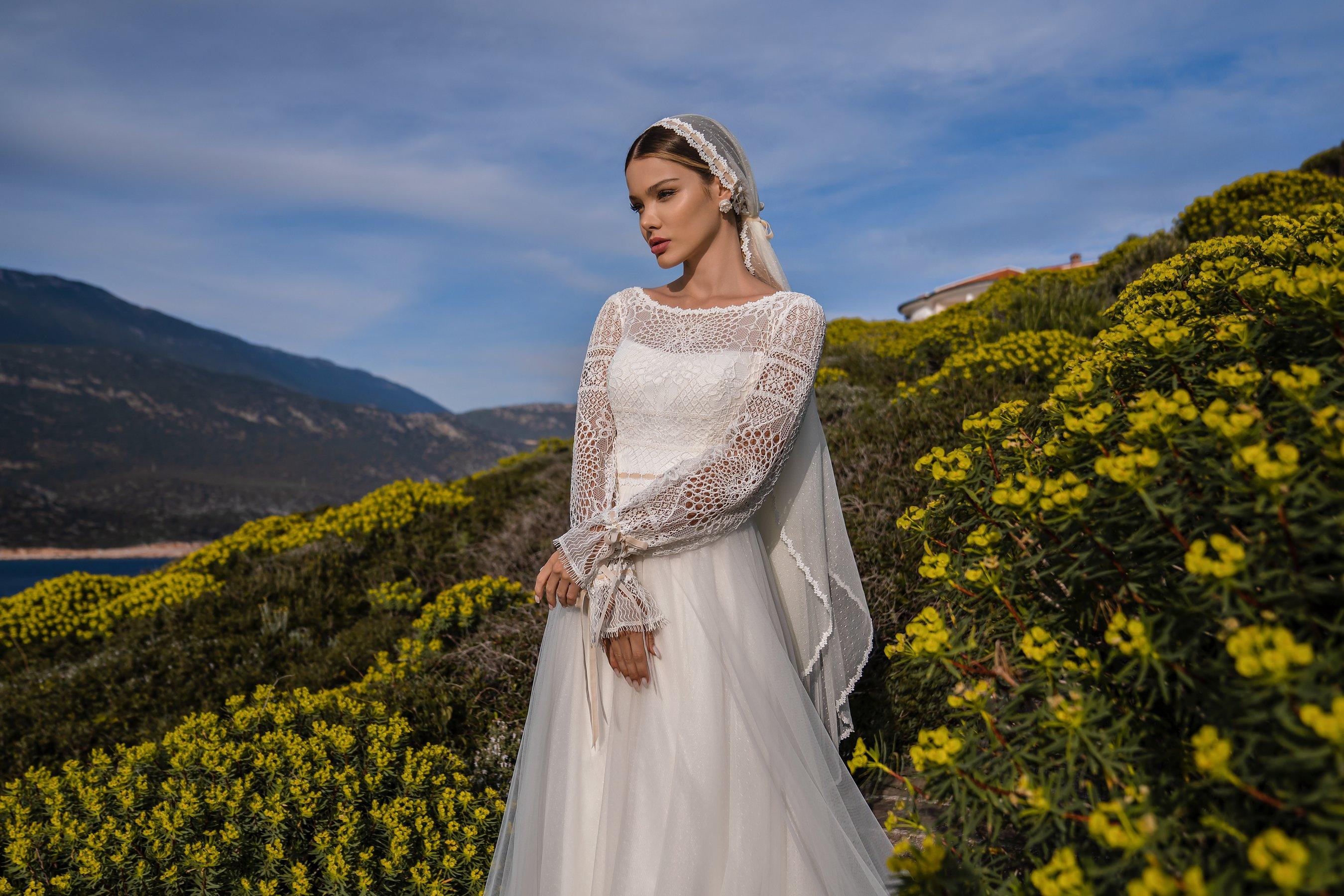 Свадебное платье в стиле бохо от Supernova-1