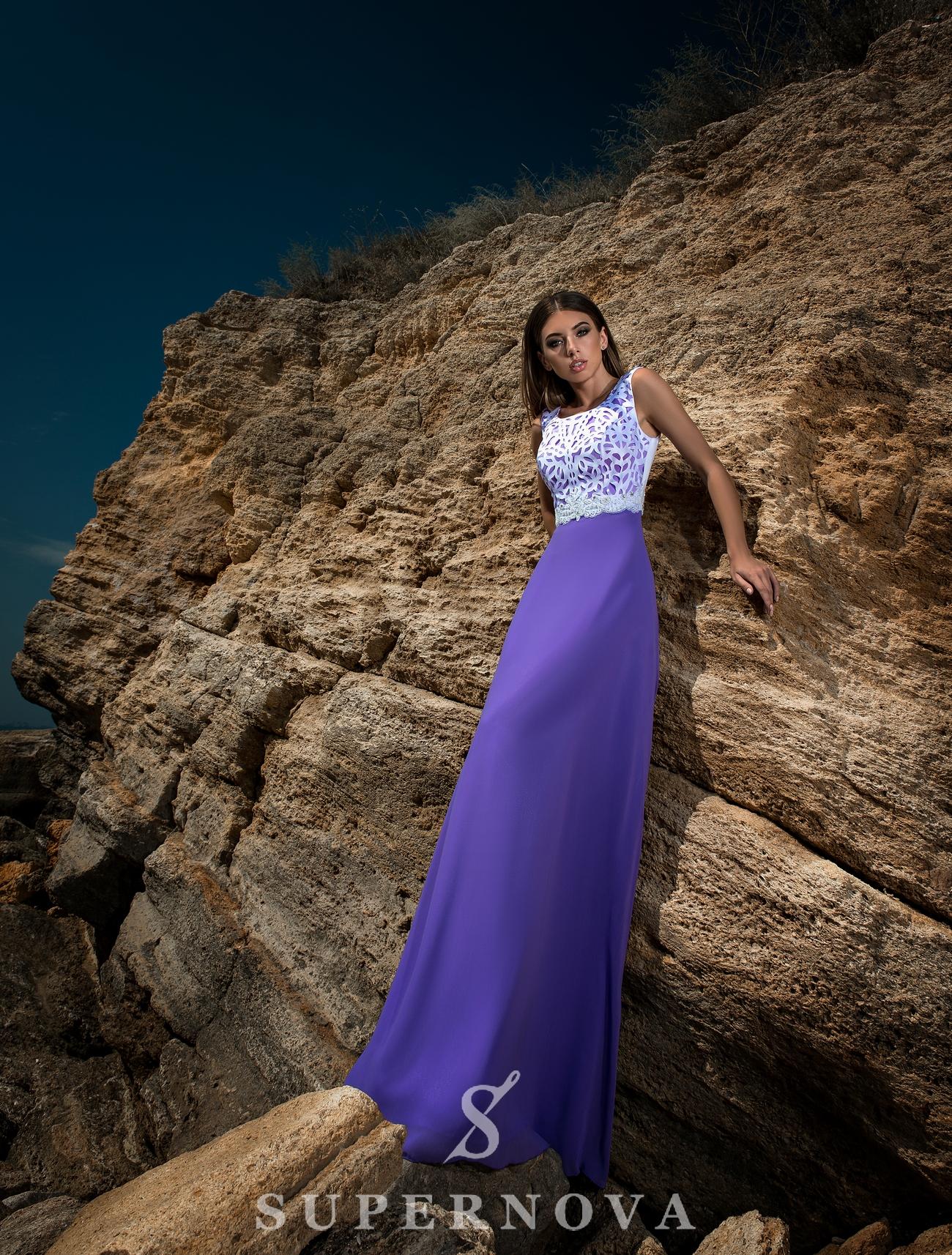 Вечірня сукня з закритими плечима-1