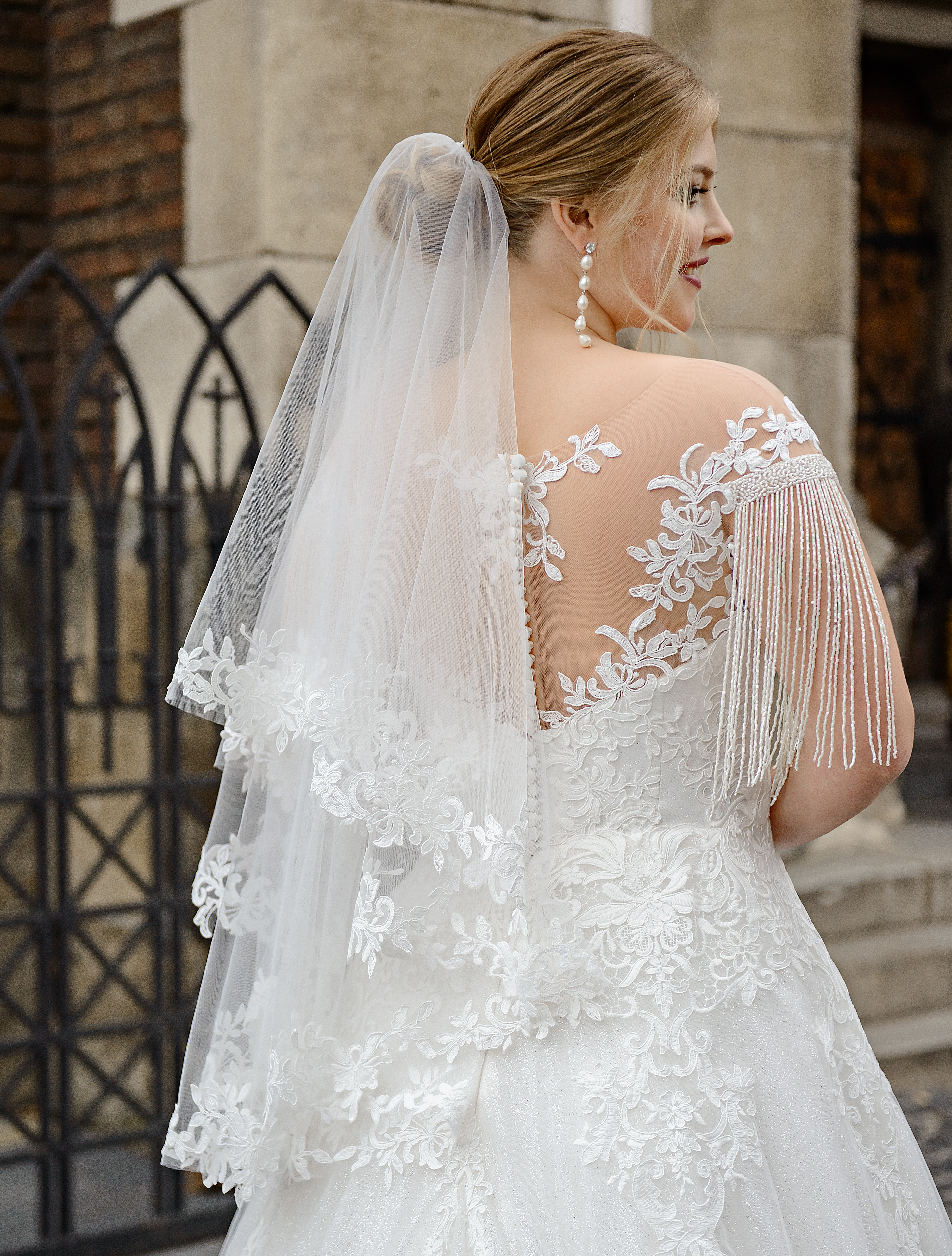 Wedding two tier veil for wholesale orders from Super Nova-1