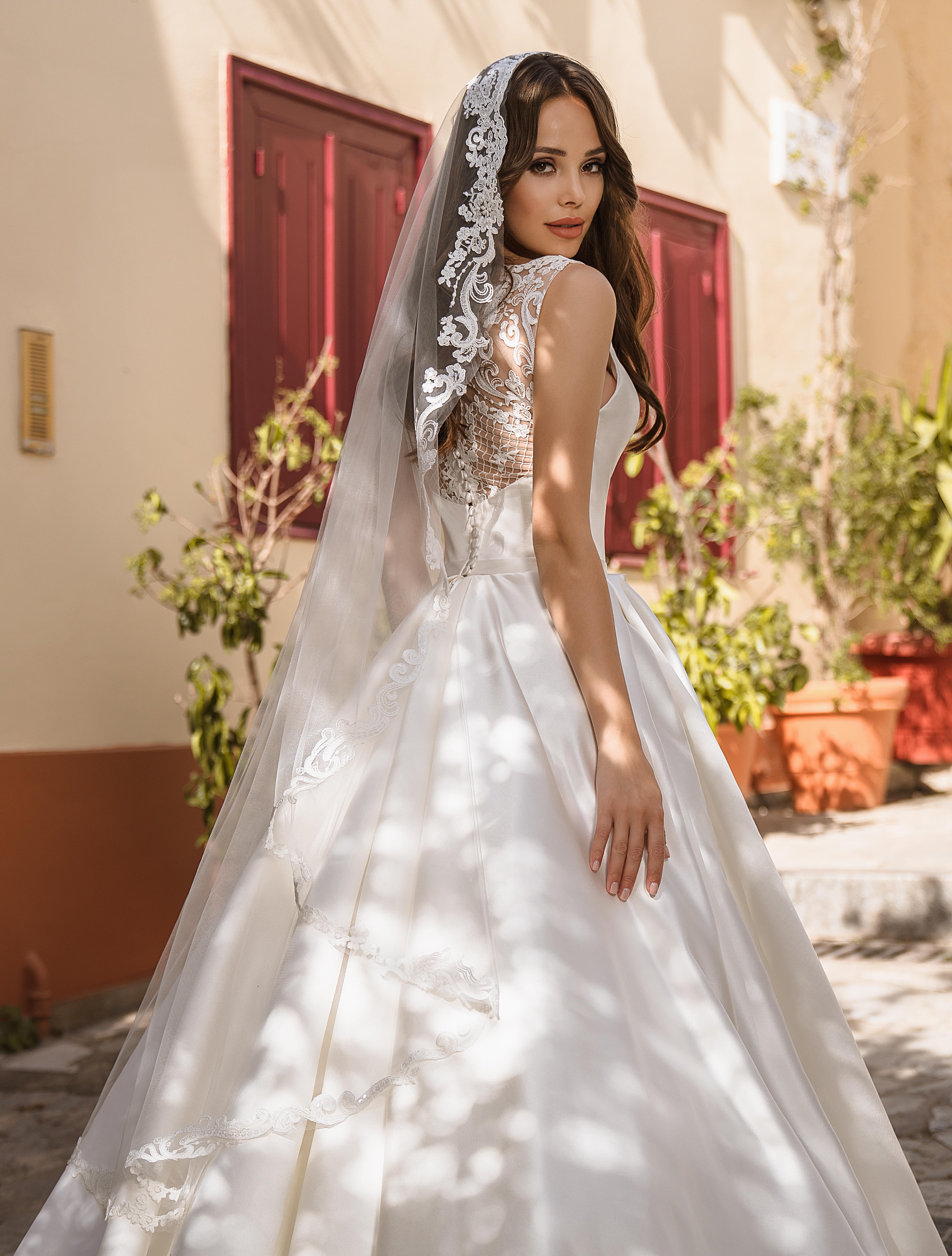 Wedding veil with sequins wholesale|TM Supernova-1