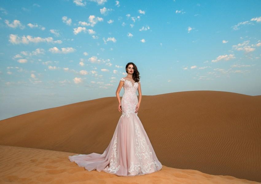 Свадебное платье на кокетке-4