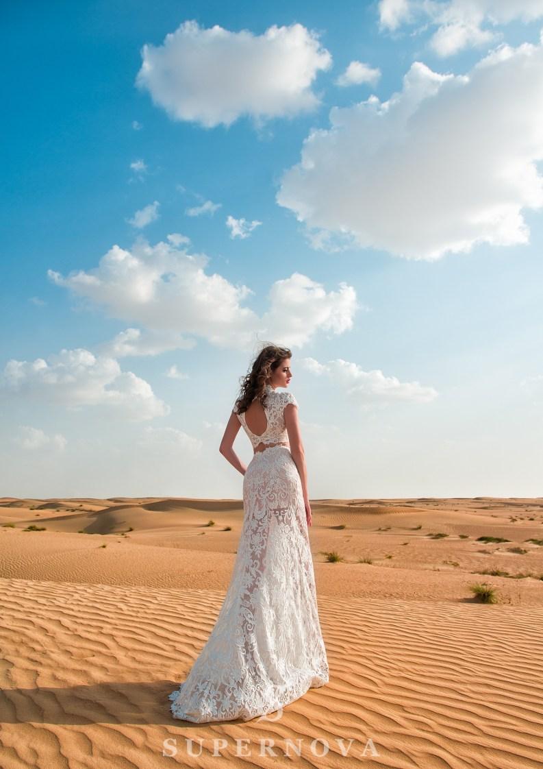 Wedding set of top and skirt-3
