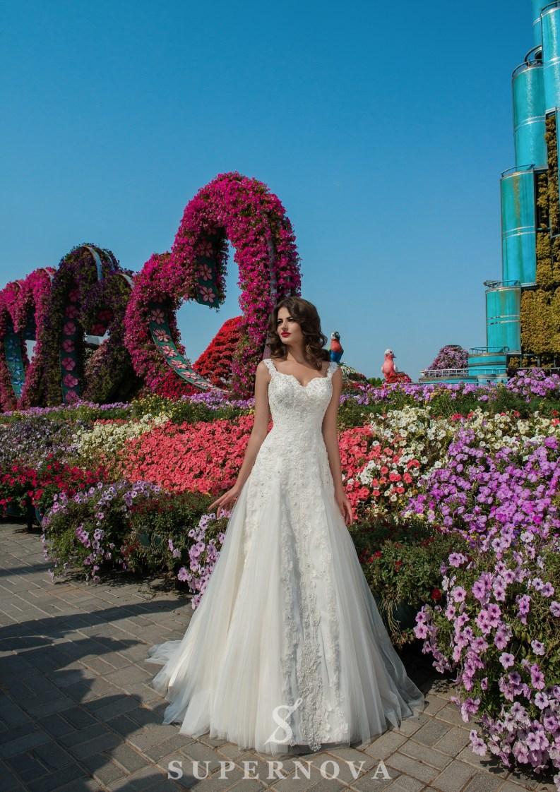Свадебное платье А силуэта-2