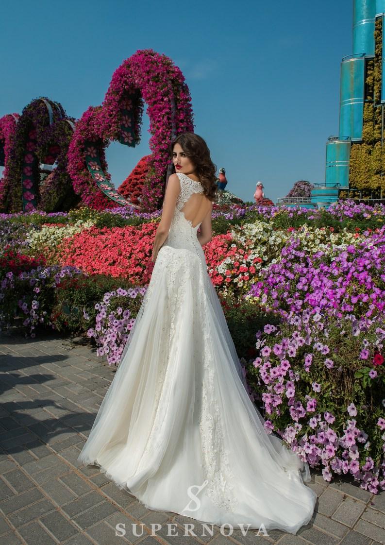 Свадебное платье А силуэта-3