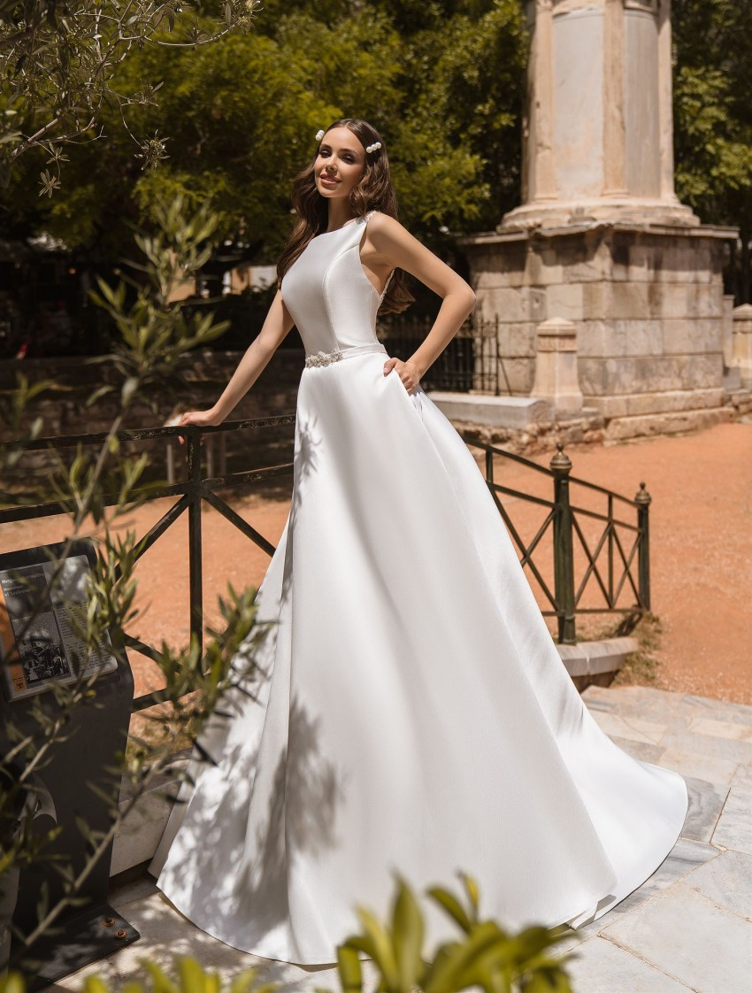 Wedding dress with pockets from manufacturer Supernova wholesale-7