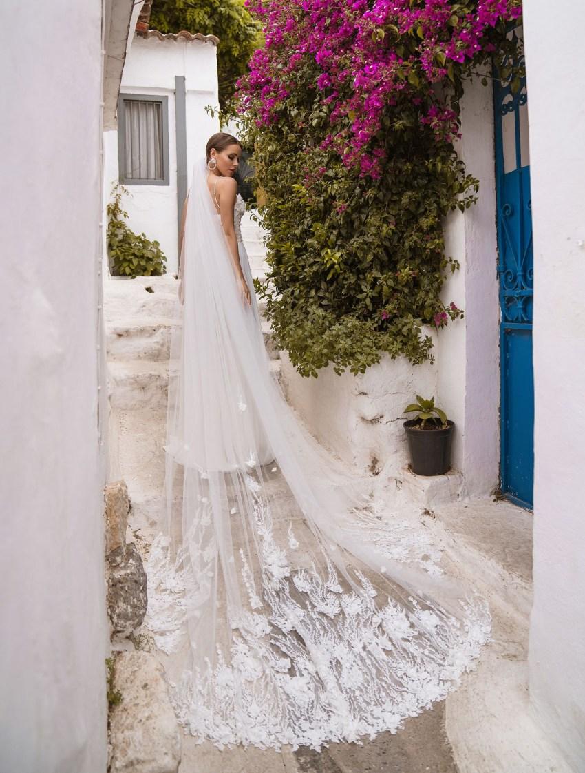 Wedding dress with belt from manufacturer Supernova wholesale-9