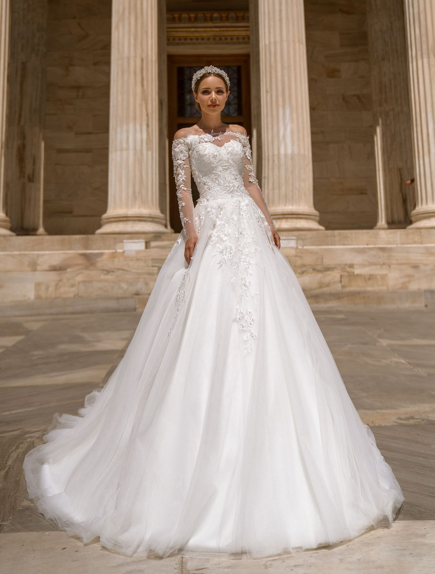 Wedding dress with bolero from manufacturer Supernova wholesale-8