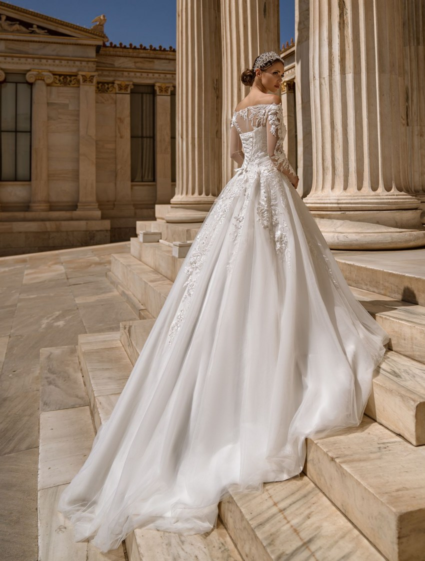 Wedding dress with bolero from manufacturer Supernova wholesale-9