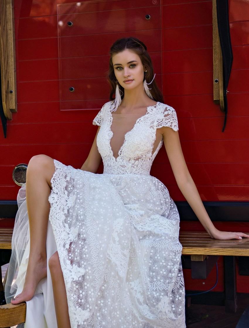 """Романтична весільна сукня """"бохо"""" оптом від Supernova-6"""