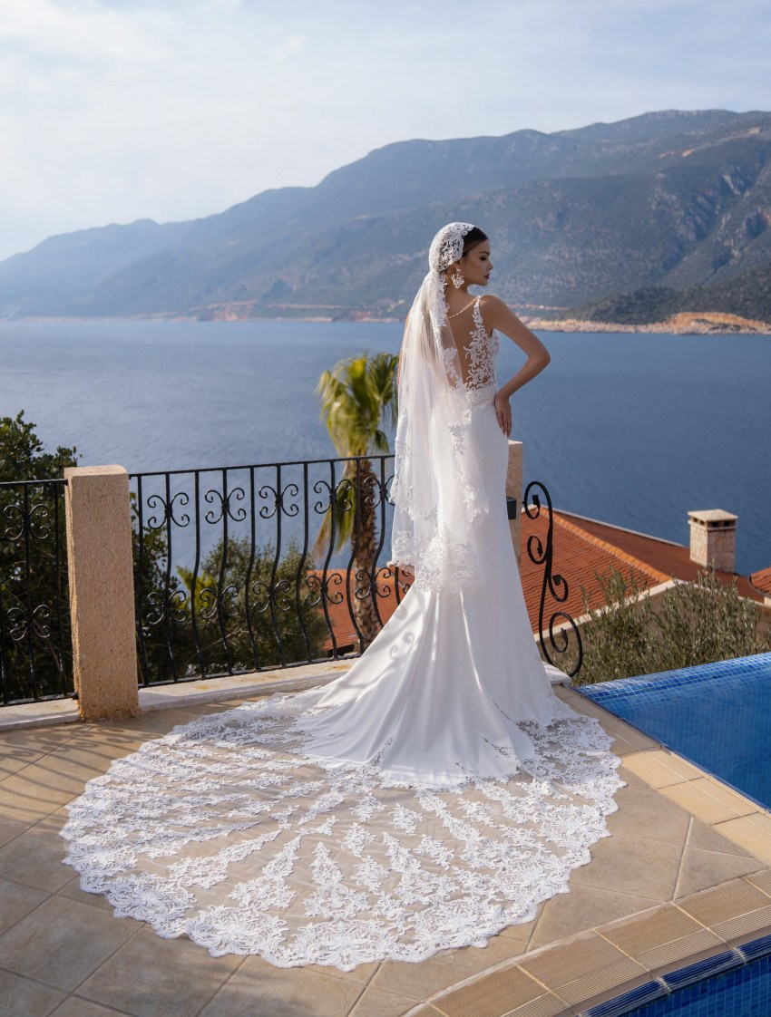 Wholesale strapless wedding dress from supernova-10