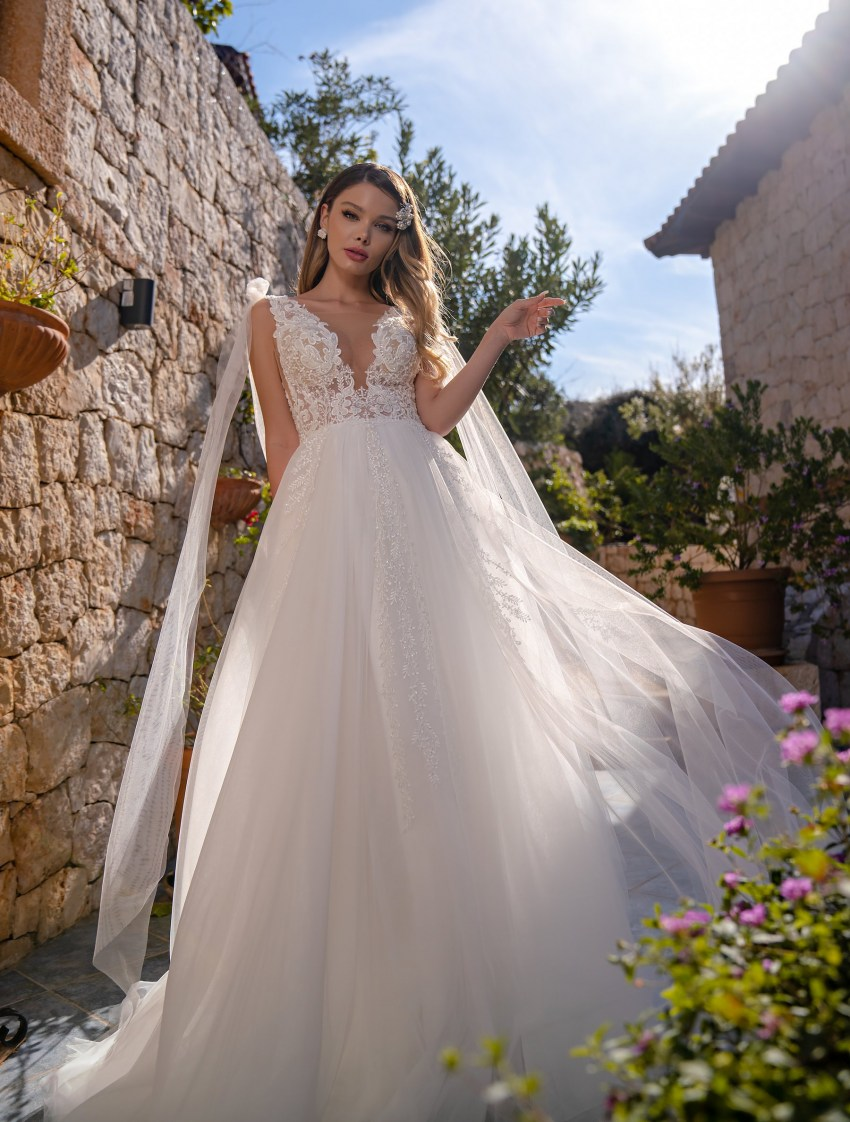 Wholesale strapless wedding dress from Supernova-8