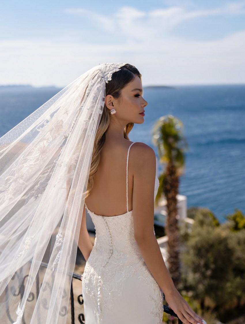 Wholesale strapless wedding dress from Supernova-9