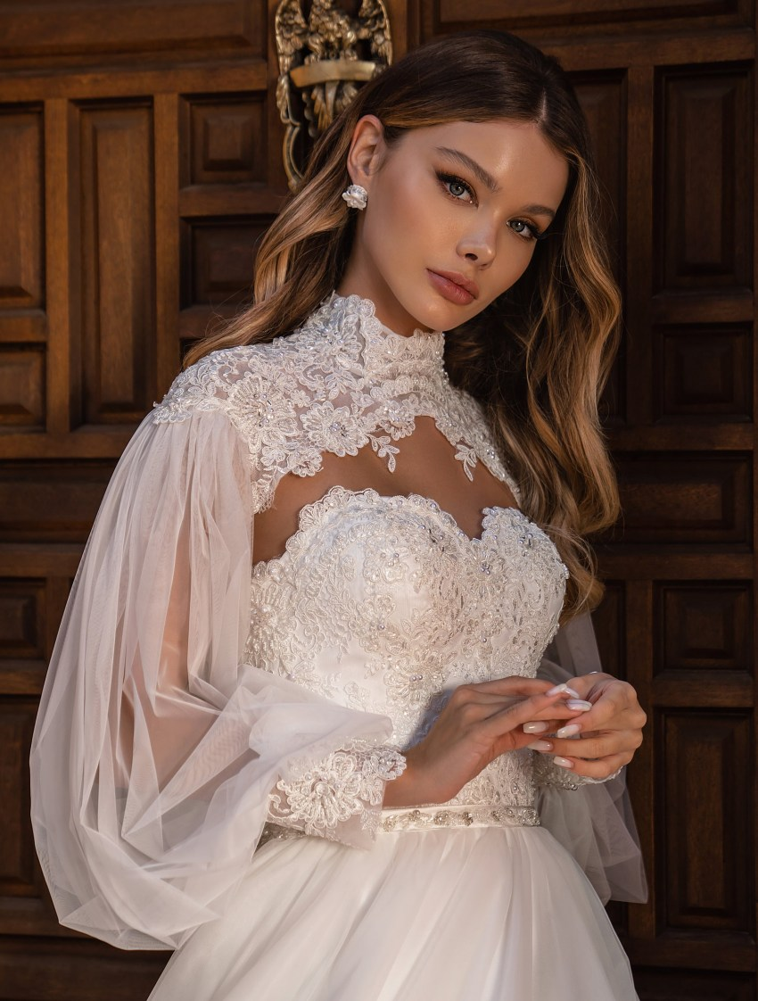 Off Shoulder Wedding Dress by Supernova-7