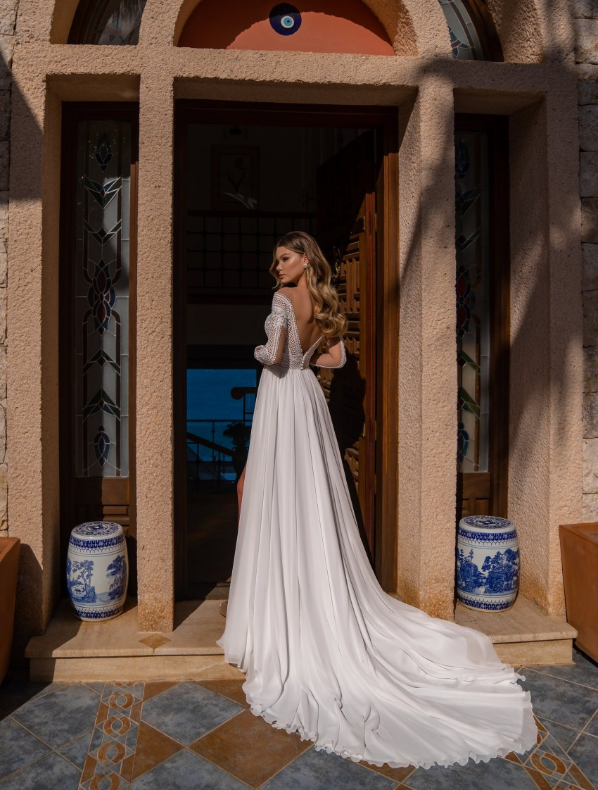 Supernova Boho Wedding Dress-8