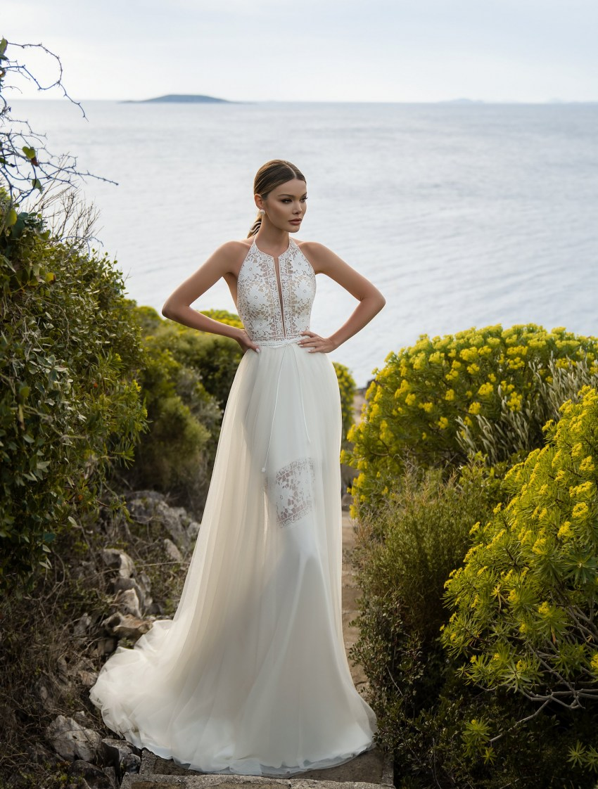 Supernova Boho Wedding Dress-7