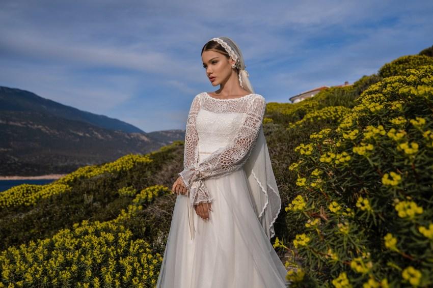 Свадебное платье в стиле бохо от Supernova-6