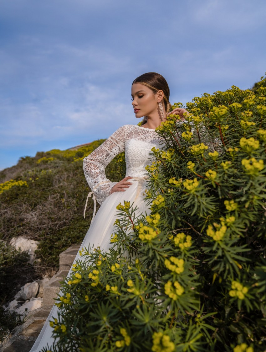 Свадебное платье в стиле бохо от Supernova-7