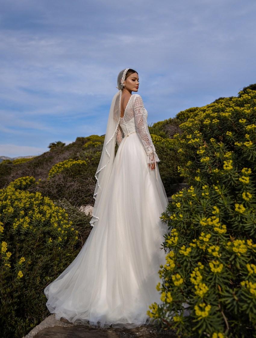 Свадебное платье в стиле бохо от Supernova-8