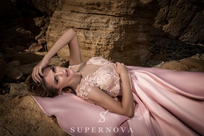 Вечірня сукня зі спідницею-кльош-2