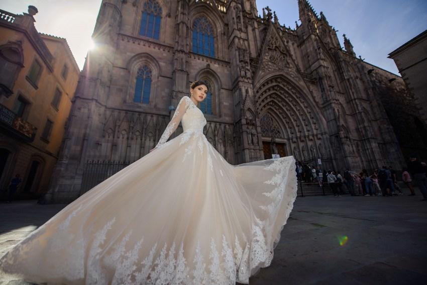 Wedding cream dress from SuperNova wholesale-4