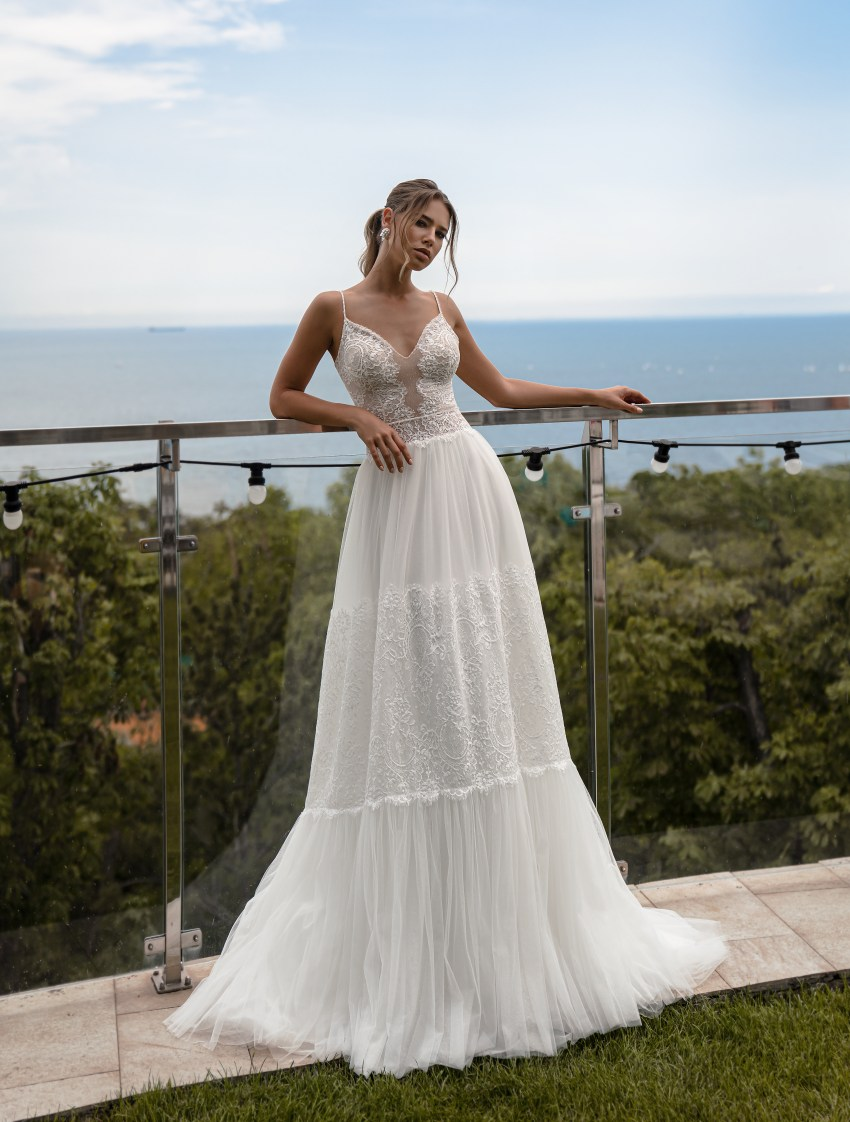 Свадебно платье в стиле бохо от Supernova-4