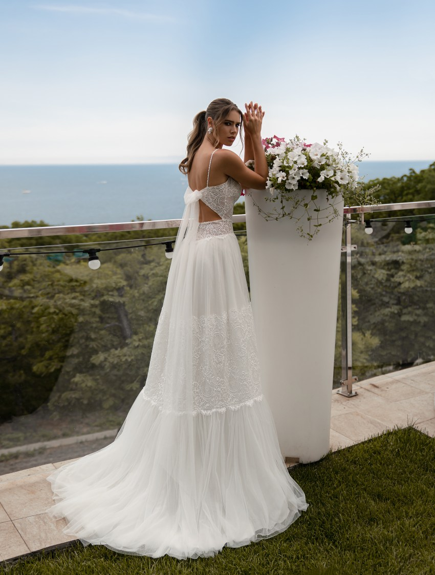 Свадебно платье в стиле бохо от Supernova-5