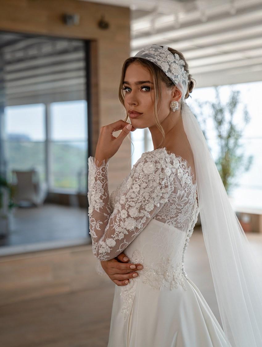 Fashion mantilla veil on wholesale:photo, catalog, prices-3