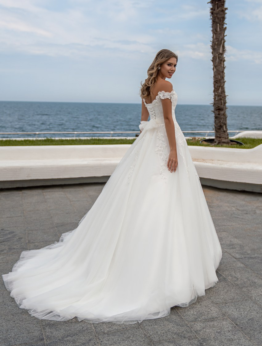 Wedding dress with open shoulders from Supernova-6