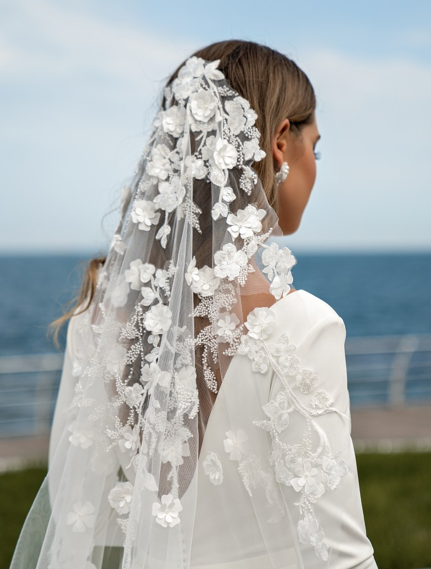 Wedding dress with long sleeves from Supernova-8