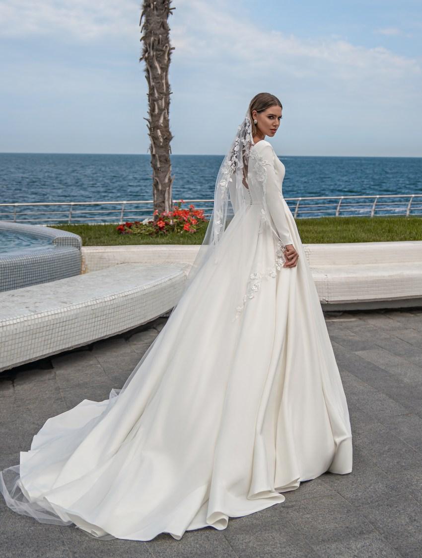 Fashion mantilla veil on wholesale:photo, catalog, prices-2