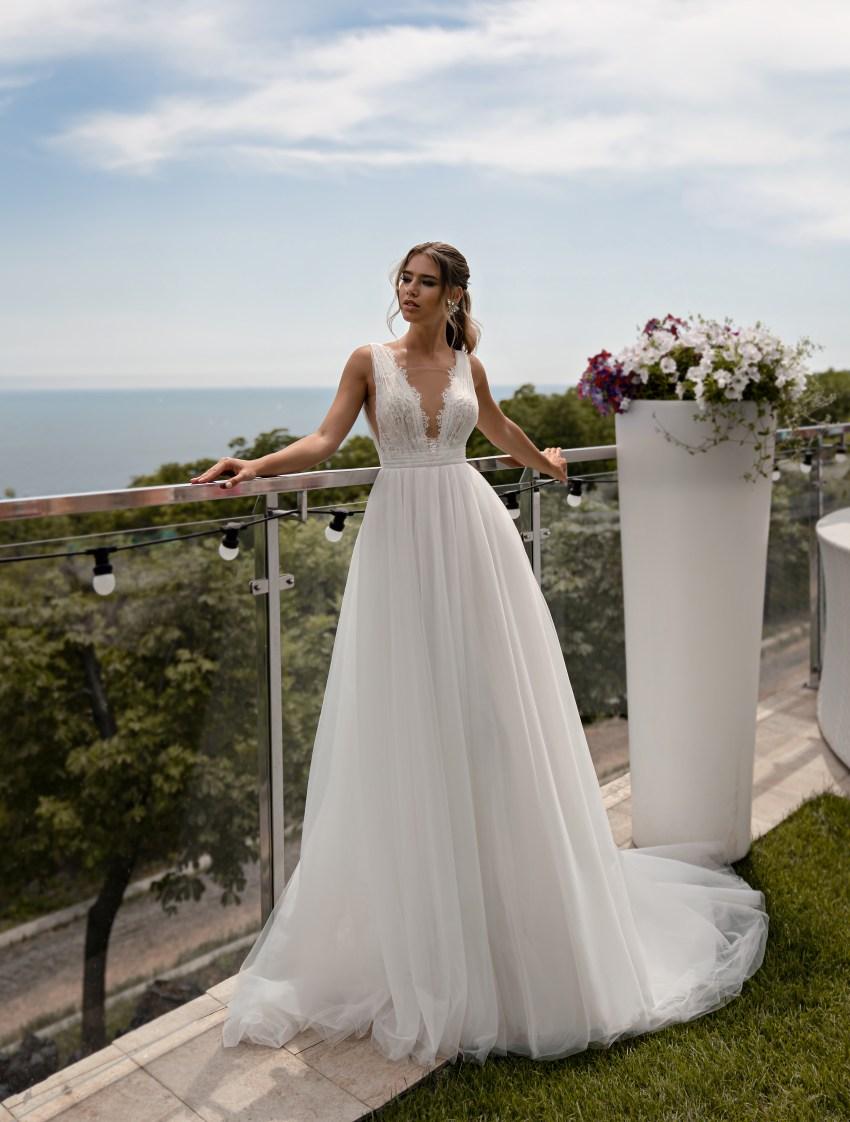 Легке весільну сукню оптом від Supernova-4