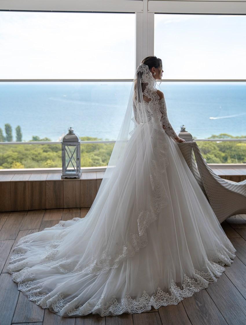 """Модна весільна фата """"іспанка"""" оптом: фото, каталог, ціни-2"""