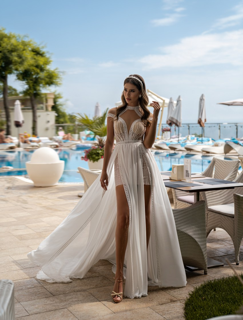 Supernova Boho Wedding Dress-4