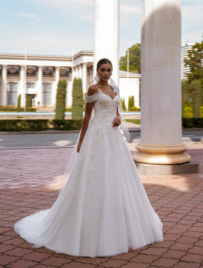 A-line wedding dress-8