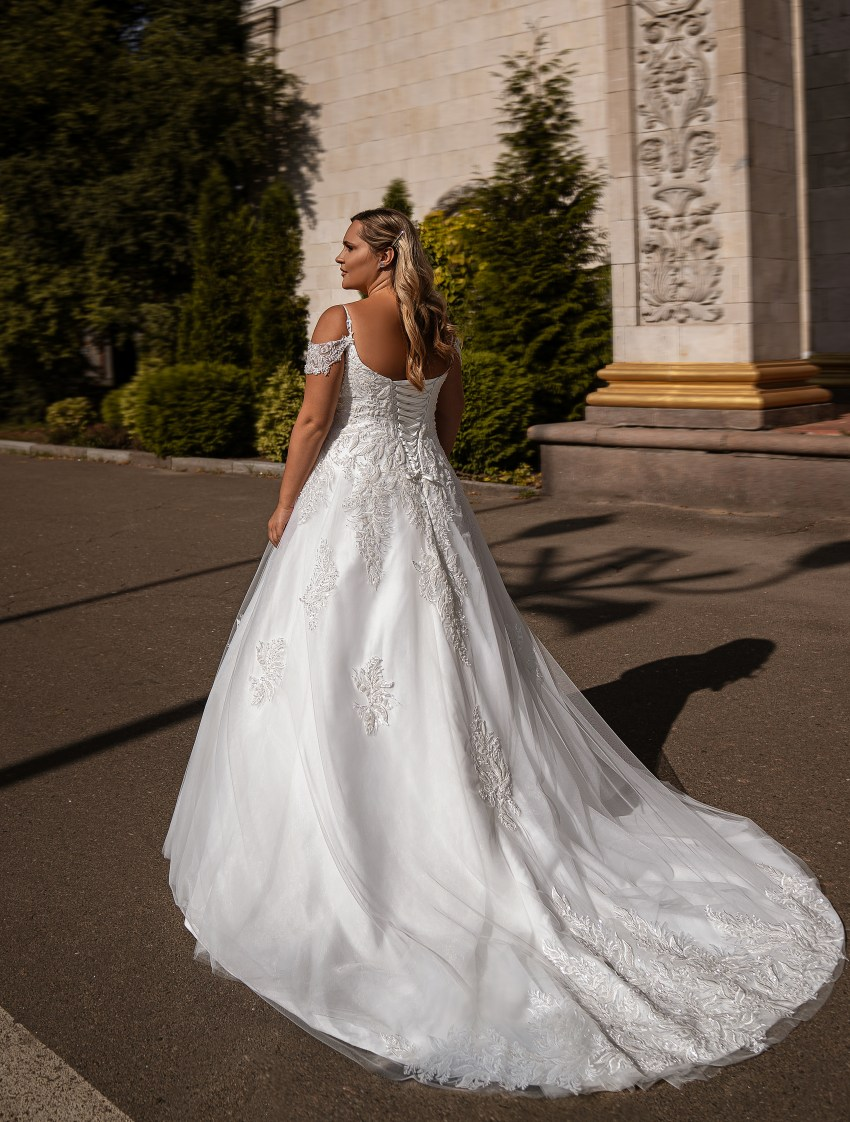 A-line wedding dress-14