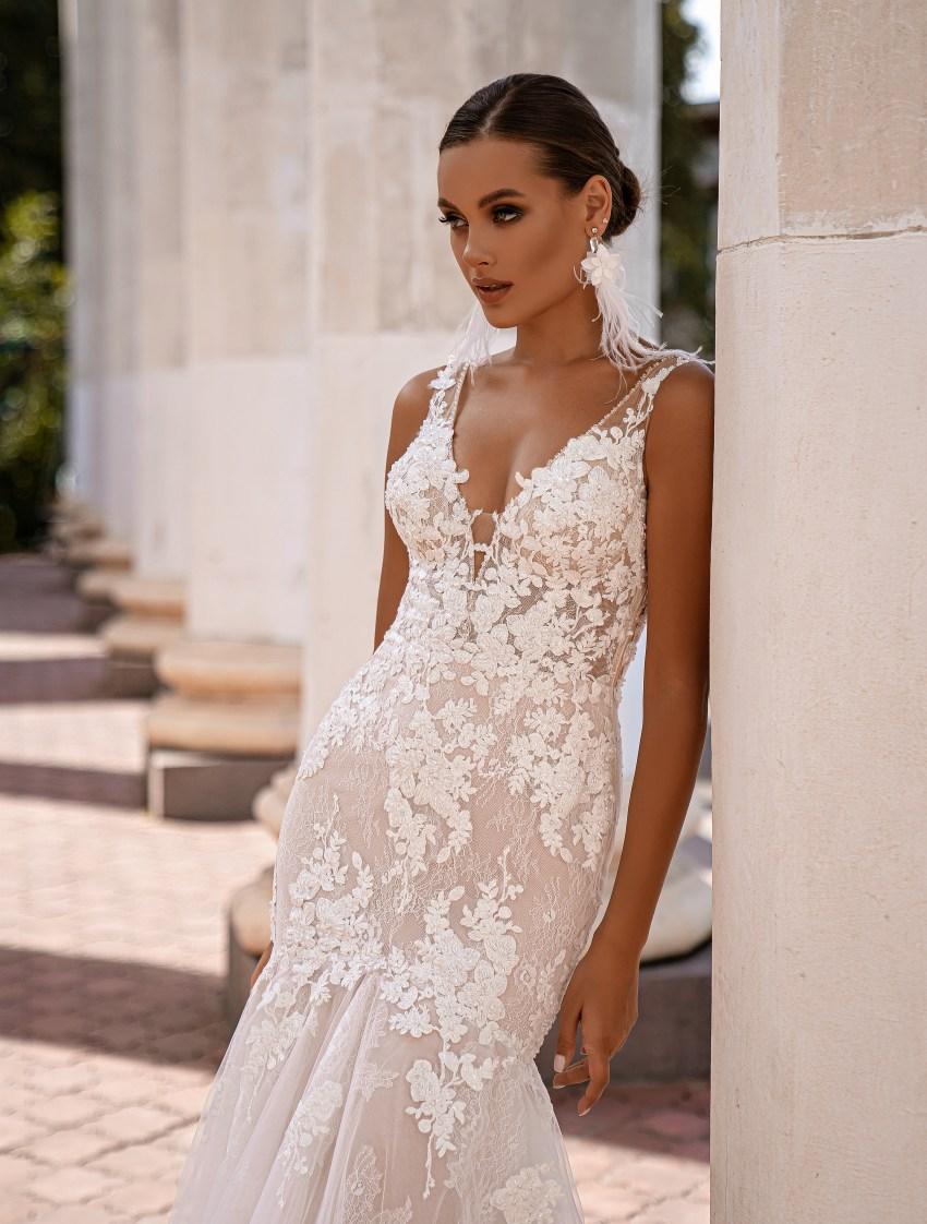 """mermaid"" silhouette wedding dress-5"