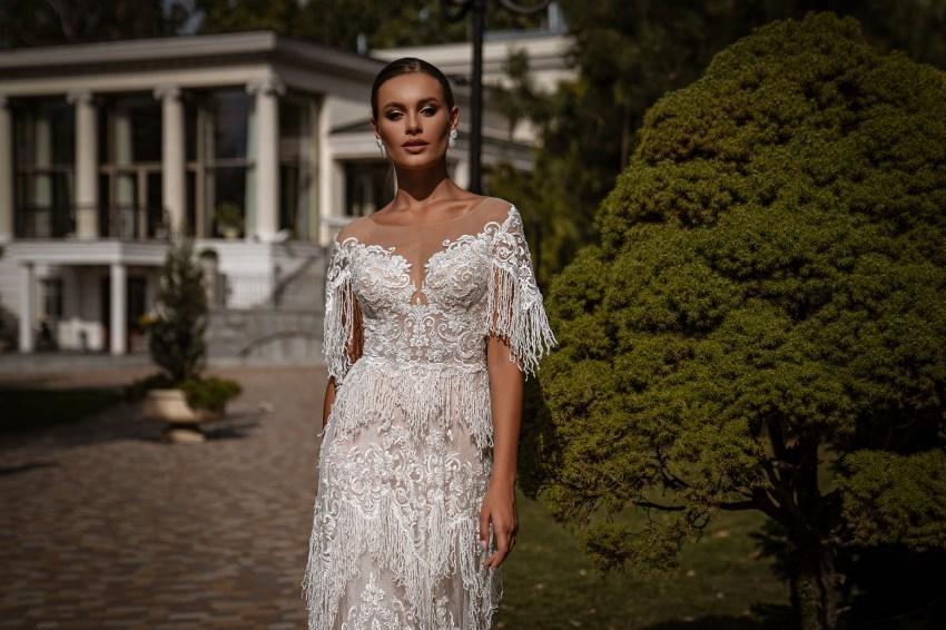 Rochie de mireasă A-siluetă-5