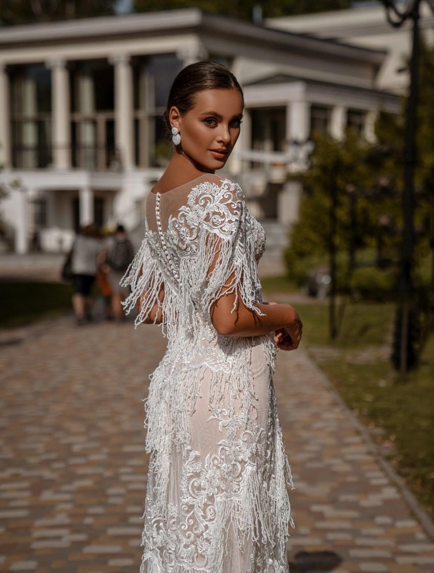 Rochie de mireasă A-siluetă-6