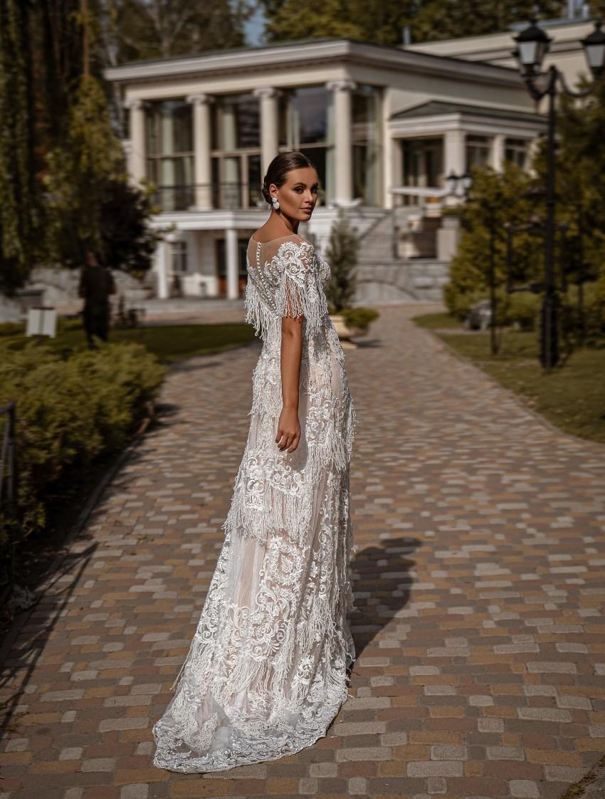 Rochie de mireasă A-siluetă-8
