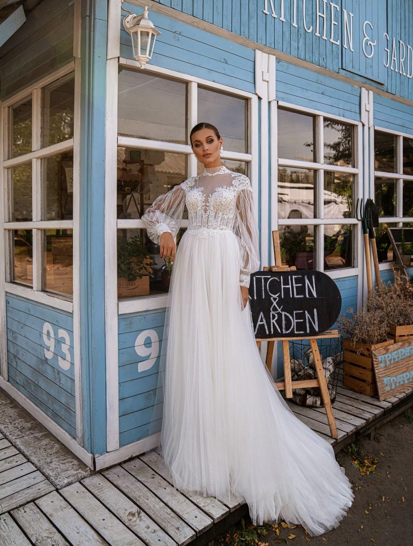 Свадебное платье стиль бохо-8