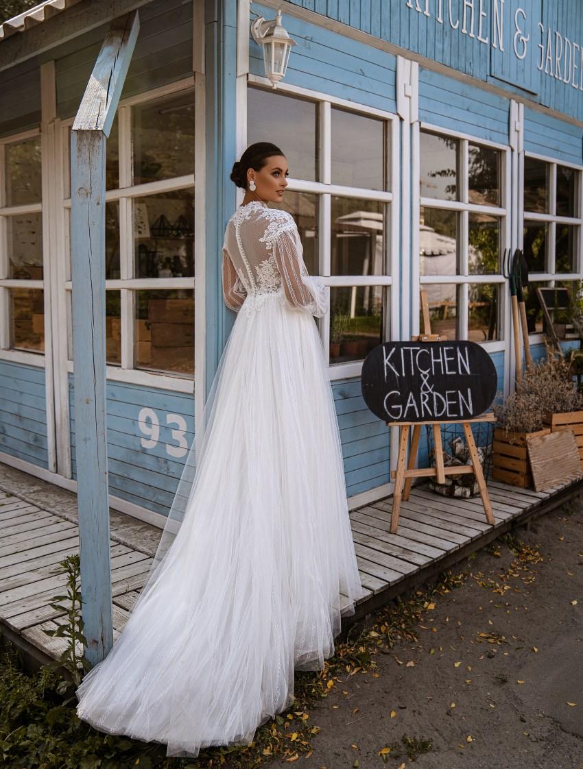 Свадебное платье стиль бохо-9