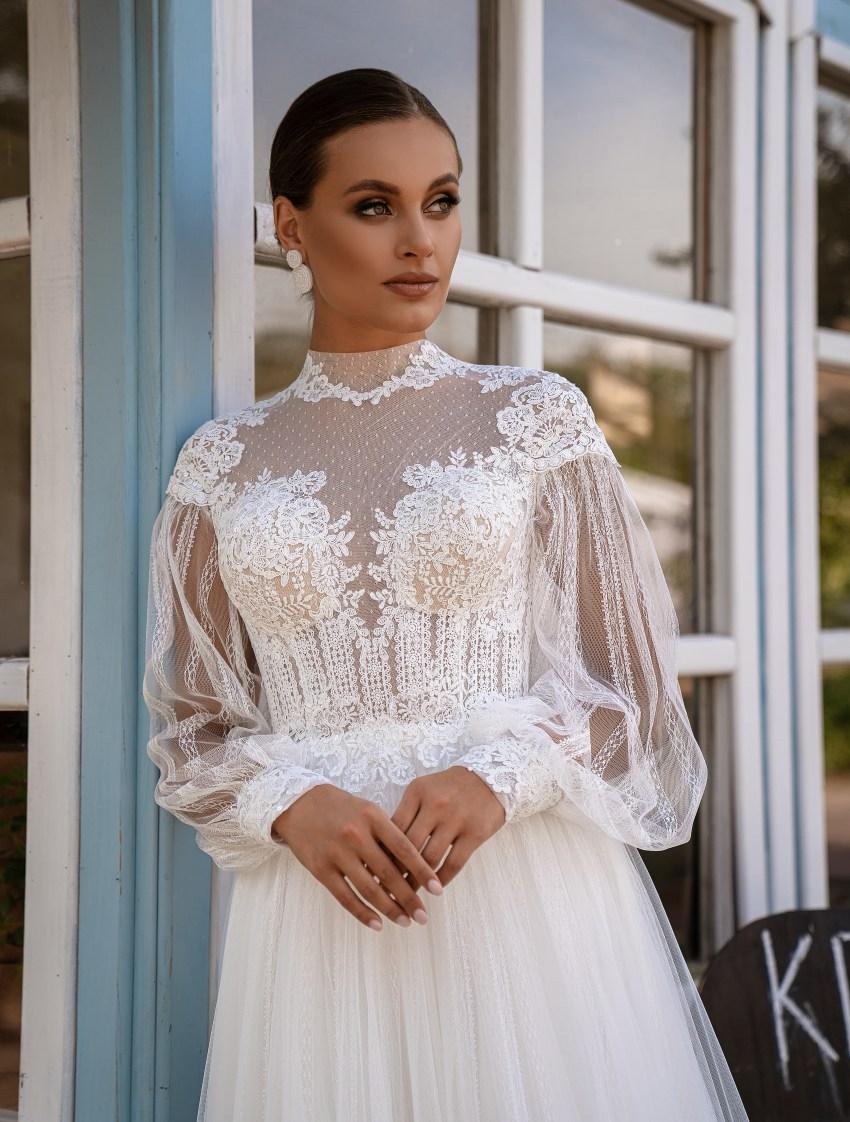 Свадебное платье стиль бохо-10