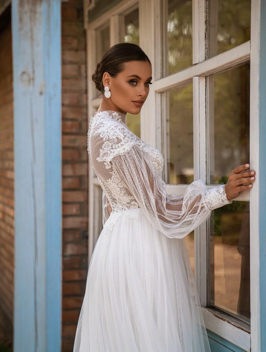 Свадебное платье стиль бохо-7