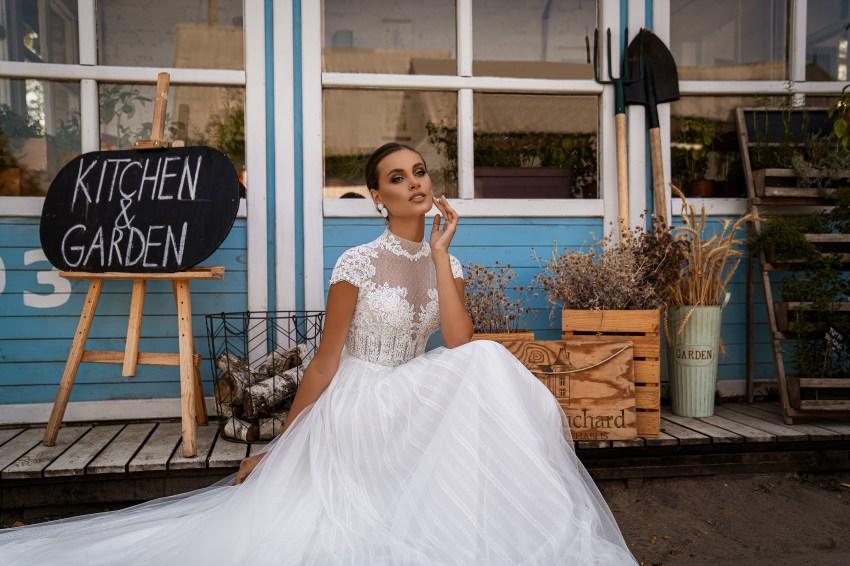 Свадебное платье стиль бохо-6